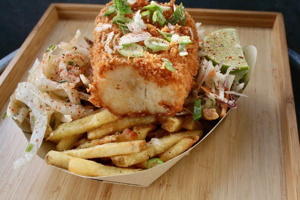 Fish n chips par le Spot Beachfood